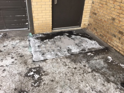 The best solutions to keeping snow and ice stains out of your buildings and facilities.