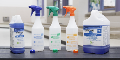 Cleaners boosted with hydrogen peroxide effectively and safely clean a wide range of surfaces.